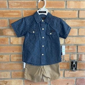 NWT INFANT BOYS 18mo LUCKY BRAND OUTFIT